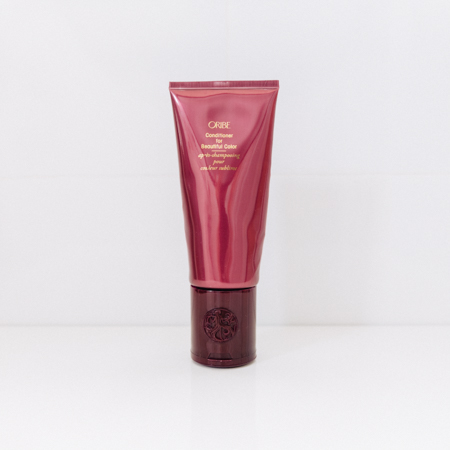 Oribe conditioner review. Conditioner for beautiful colour hair.