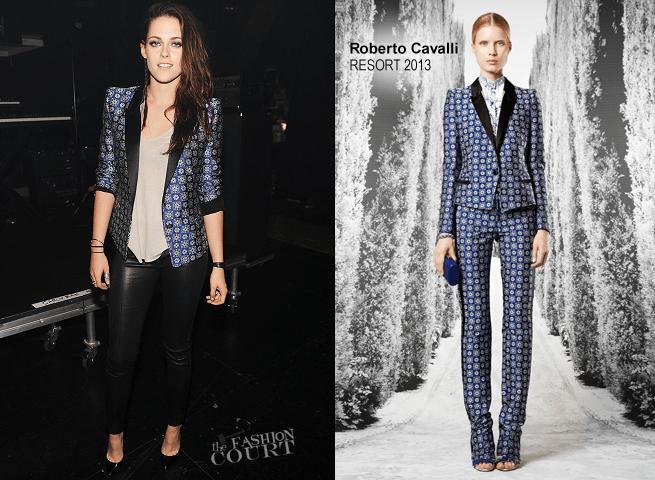 Kristen Stewart em Roberto Cavalli | Prémios Teen Choice 2012