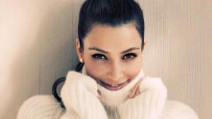 Η Kim Kardashian στα λευκα!