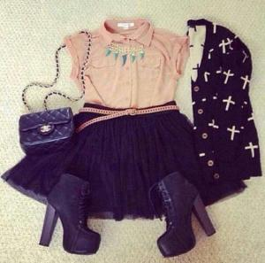 ROCK GLAM OUTFIT