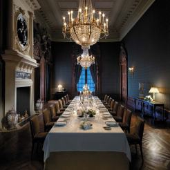 A private dining room for meetings, conferences and celebrations
