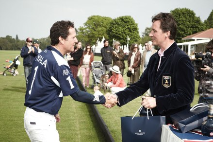 The 13th Duke of Argyll at a Royal Salute polo match