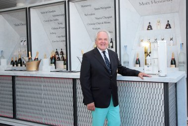 Chief Executive Officer of Moët Hennessy Christophe Navarre