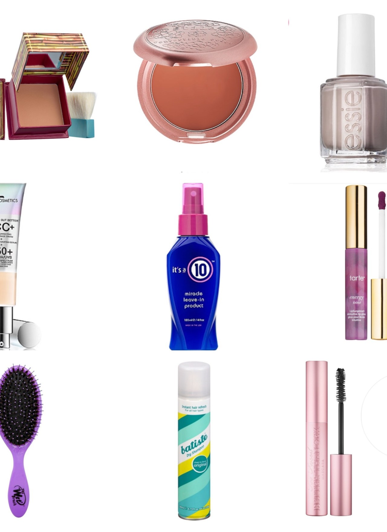 Summer Beauty List