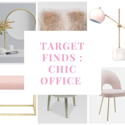 The Best Target Finds for Your New Chic Office this Year