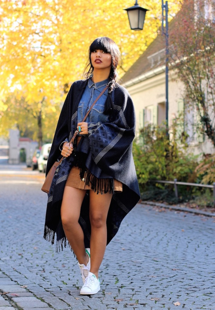 MODEBLOG-PONCHO-AUTUMN-HERBST-LEDER-ROCK-ADIDAS-OUTFIT-LOOK-STYLE-MUENCHEN-MUNICH-BLOGGER-MODEBLOGGER-6