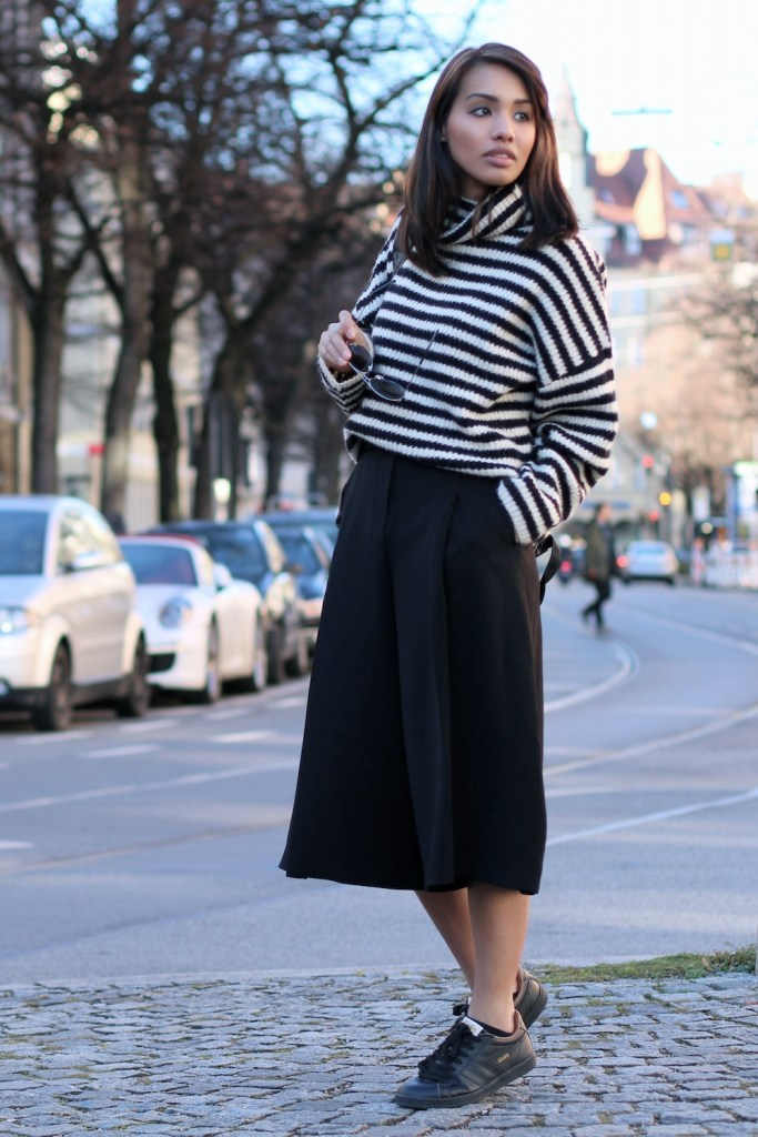 OUTFITPOST-STYLE-LOOK-GOLA-RENELEZARD-CULOTTES-SNEAKER-STRIPES-PULLOVER-ZARA-SWEATER-WINTER-BLOGGER-FASHIONBLOG-MODEBLOG-MUENCHEN-MUNICH-7