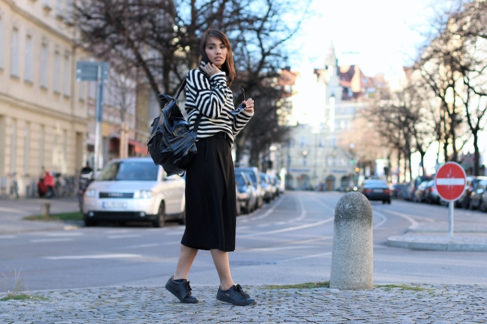 OUTFITPOST-STYLE-LOOK-GOLA-RENELEZARD-CULOTTES-SNEAKER-STRIPES-PULLOVER-ZARA-SWEATER-WINTER-BLOGGER-FASHIONBLOG-MODEBLOG-MUENCHEN-MUNICH-8