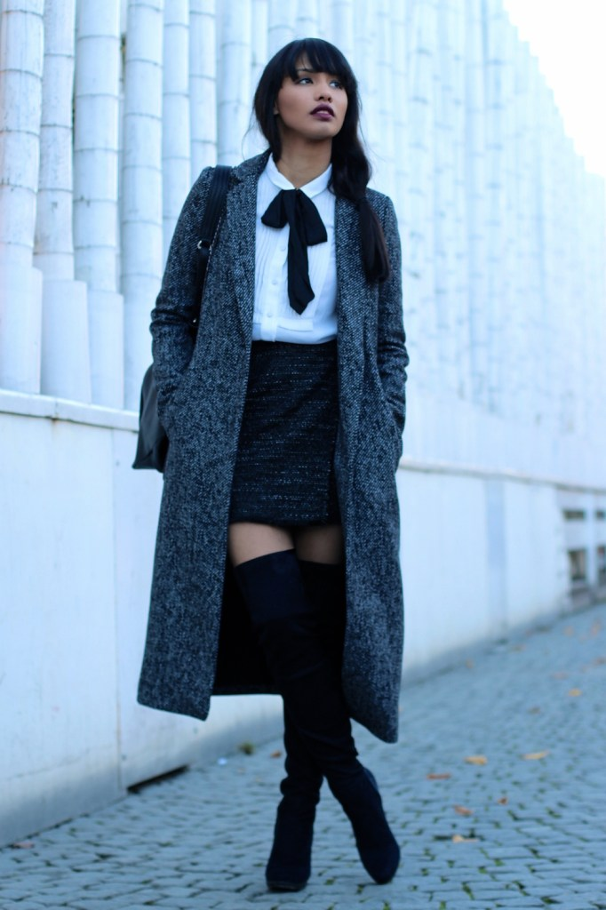 OUTFITPOST-STYLE-WOOL-OVERSIZECOAT-ZARA-OVERKNEES-MUENCHEN-MUNICH-BLOGGER-FASHIONBLOG-MODEBLOG-FASHIONBLOGGER-BOW-BUSINESS-LOOK-CLASSY-KLASSISCH-SKIRT-5