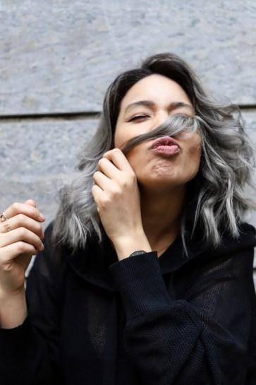 Ganz und zu Extrem Haare grau färben: Granny Hair Look - thefashionanarchy &VF_04
