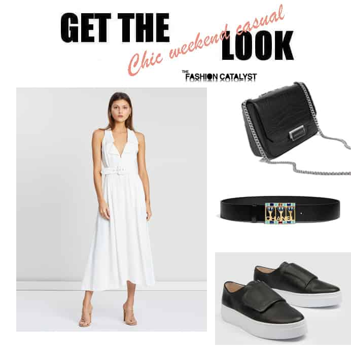 get the look weekend chic casual
