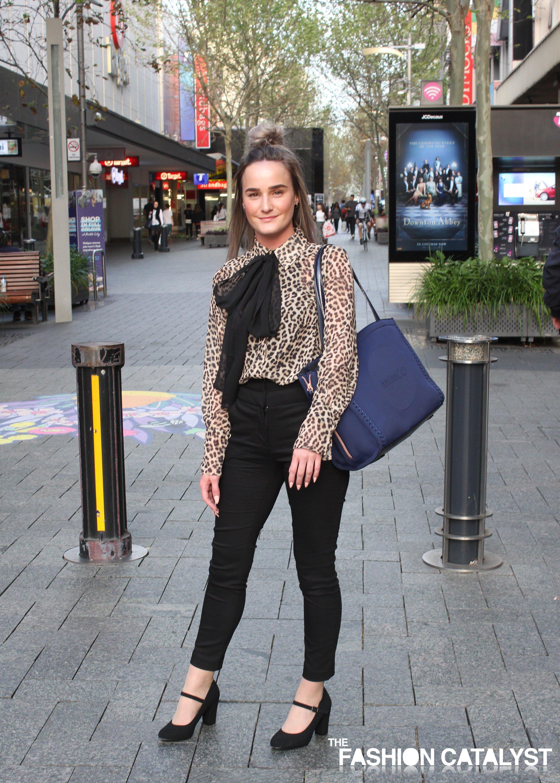 Jessica Kilmurray Perth City street style