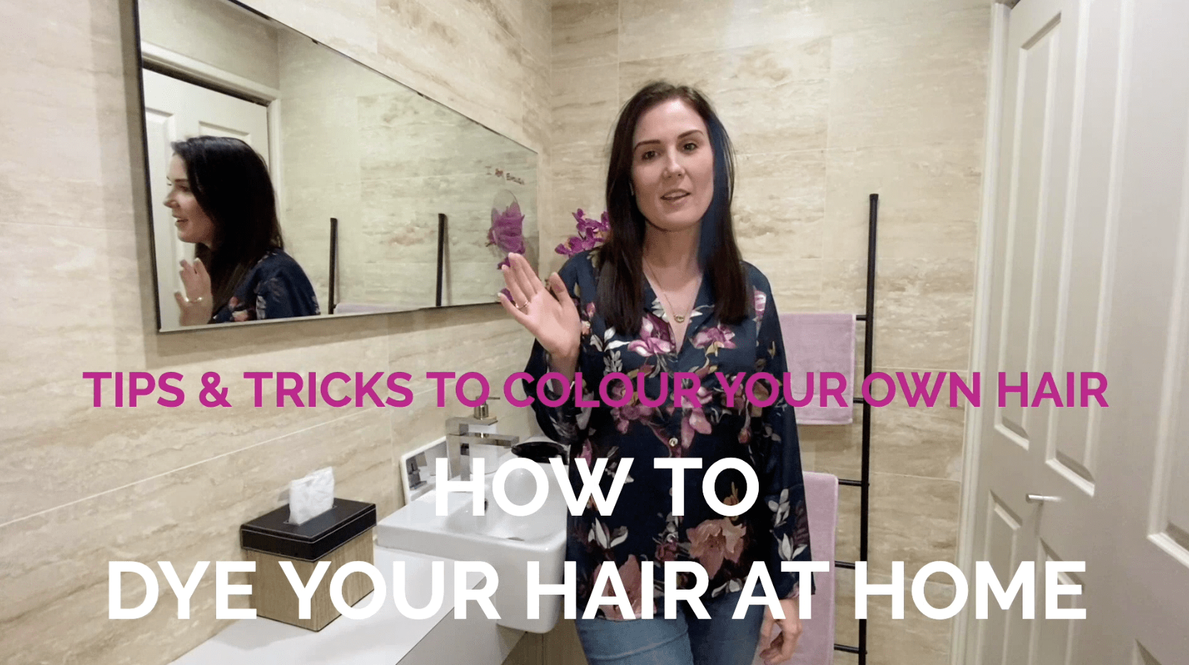How To Dye Your Hair At Home | Colour Your Own Hair Tutorial