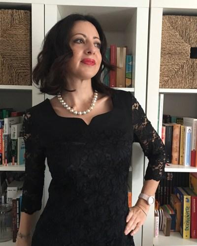Come vestirsi a Natale: il mio abito elegante in pizzo nero