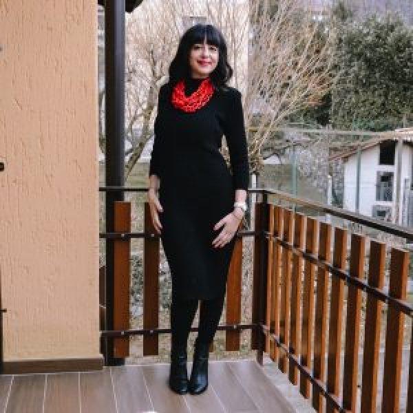Femme Luxe: abito in maglia longuette