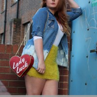 OOTD: Distressed Denim & Lady Luck