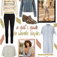 Wardrobe staples with AND/OR at John Lewis*