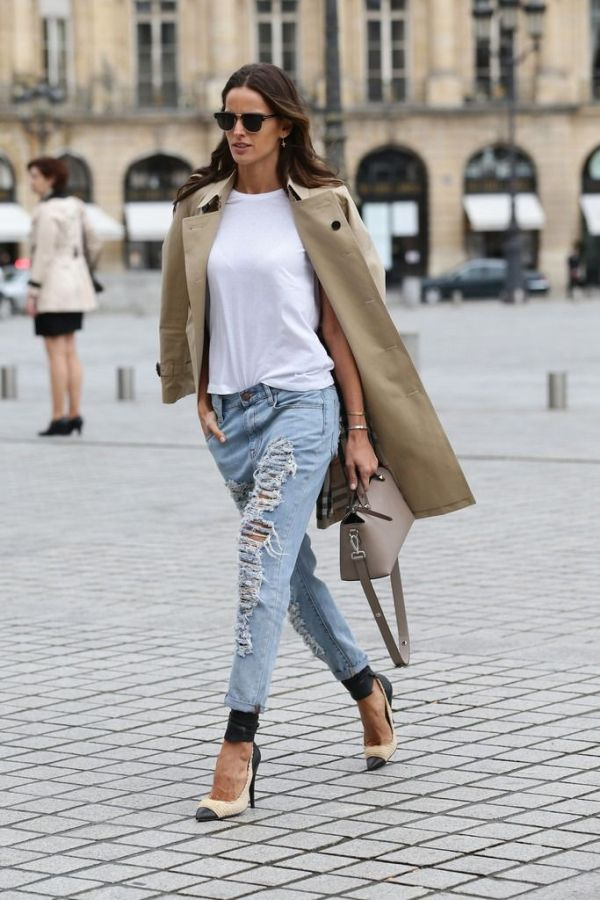 trench-coat-and-ripped-skinny-jeans