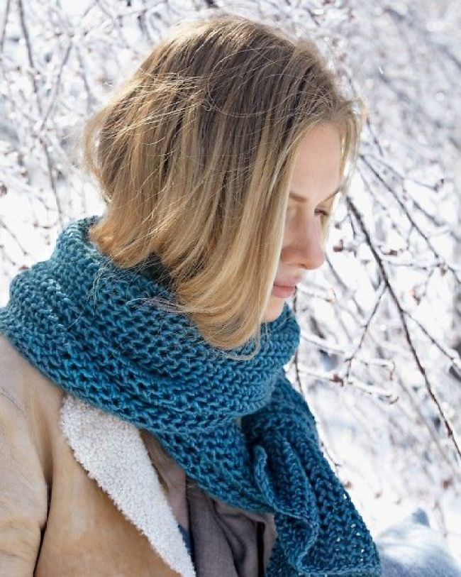 ways to style scarf