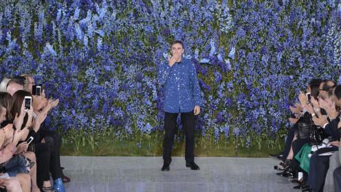 Raf Simons much lauded ss16 Sior collection in Paris
