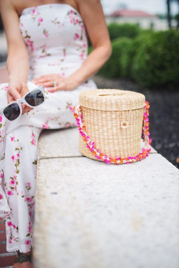 Nannacay cherry blossom bag