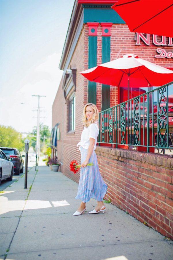 street style blonde