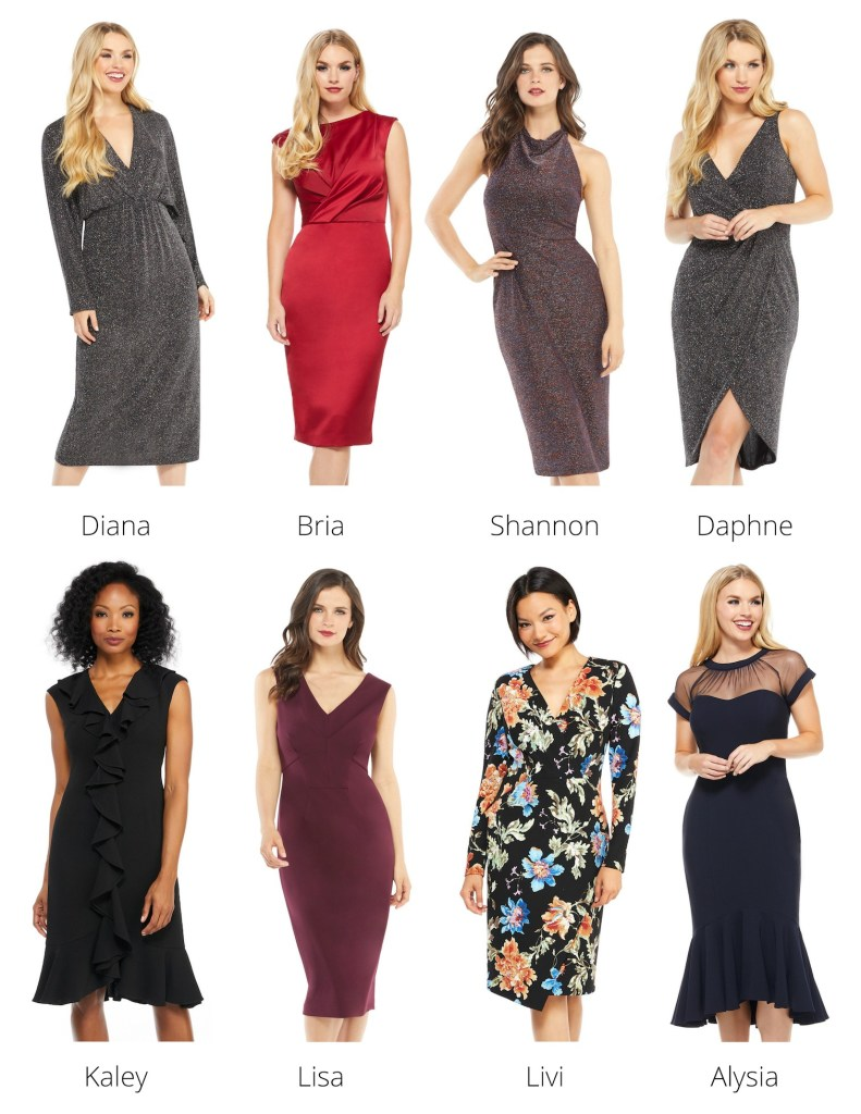 Maggy London Holiday dresses