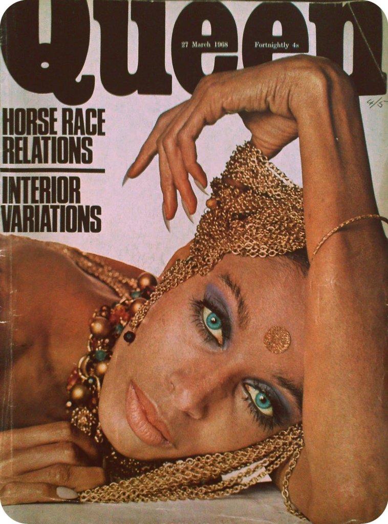 DONYALE LUNA (1968 Harpers & Queen)