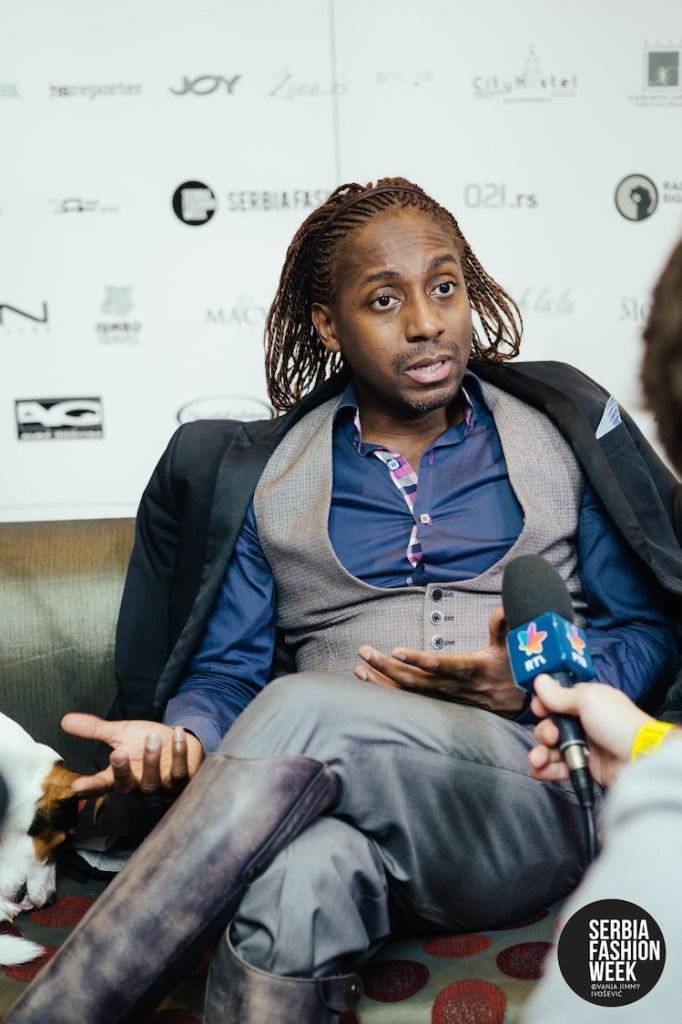 Fashion Insider TV host, Marcellous L. Jones