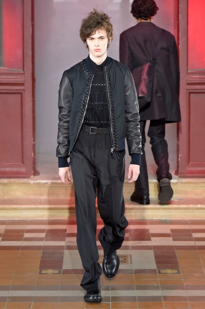 LANVIN Menswear Fall Winter 2015/16