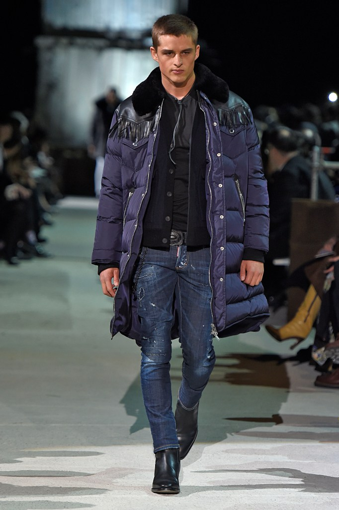 Dsquared2 20th Anniversary Fall/Winter 2015-2016