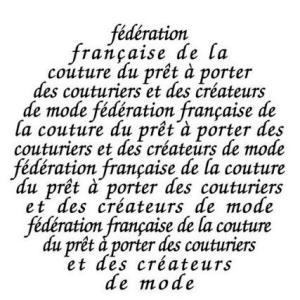 Fédération Française de la Couture