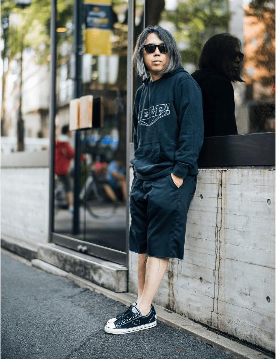 Tokyo-based streetwear culture icon, Hiroshi Fujiwara
