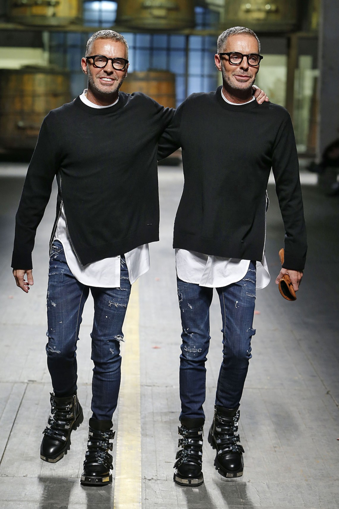 Dean & Dan Caten, Artistic Directors & Founders of Dsquared2