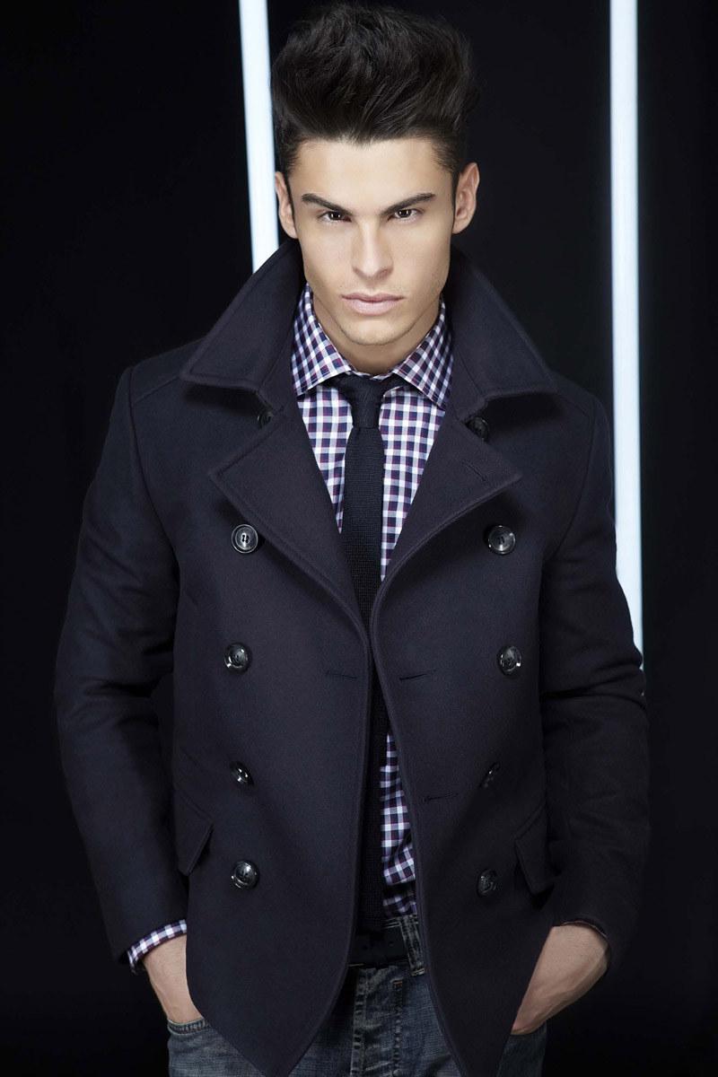 lagerfeldfall3 Baptiste Giabiconi for Lagerfeld Fall/Winter 2011