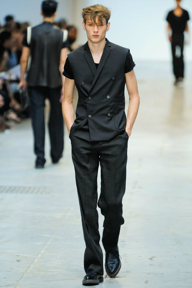 costumenational7 Costume National Homme Spring 2012 | Milan Fashion Week