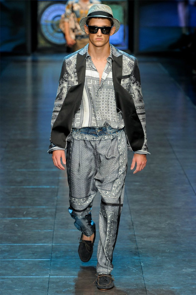 dgrunway1 D&G Spring 2012 | Milan Fashion Week
