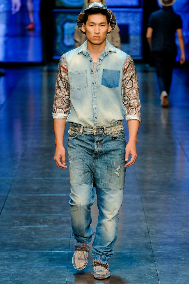 dgrunway11 D&G Spring 2012 | Milan Fashion Week