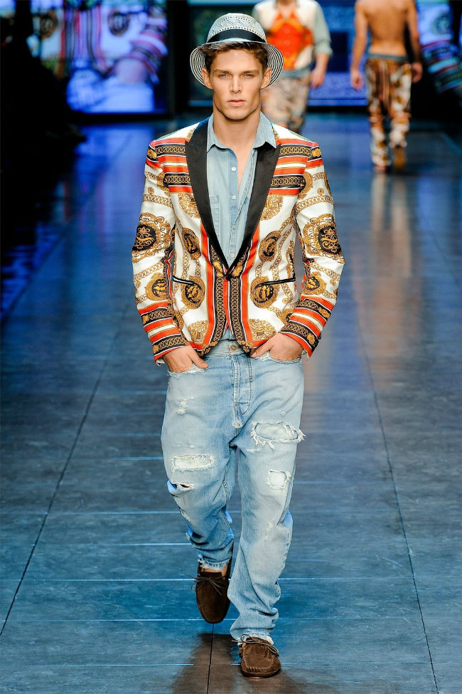 dgrunway3 D&G Spring 2012 | Milan Fashion Week
