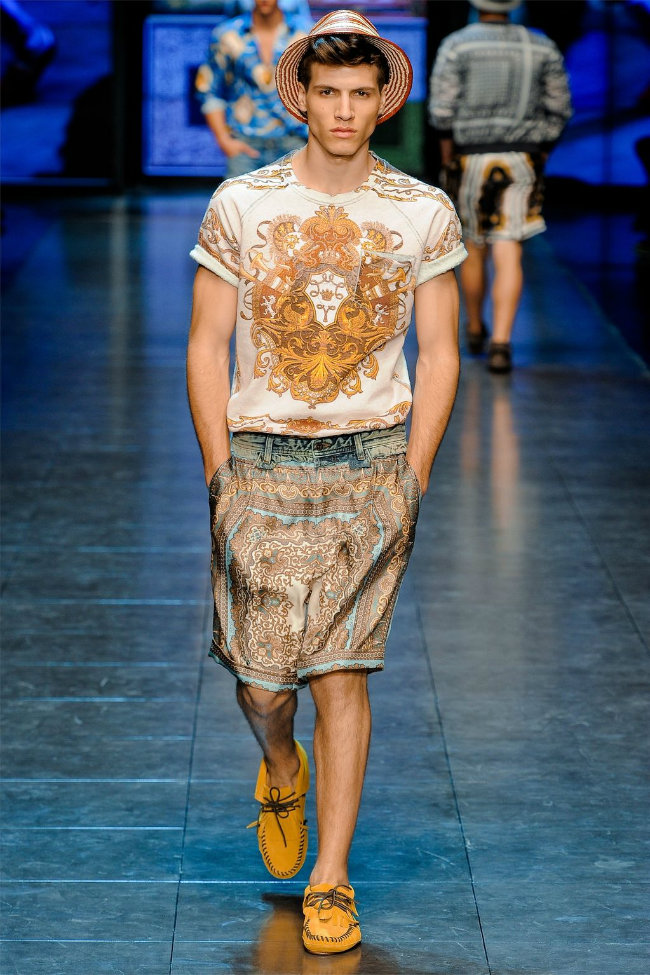 dgrunway39 D&G Spring 2012 | Milan Fashion Week