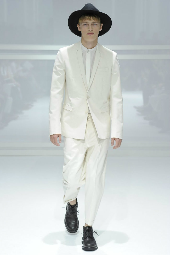 diorhomme1 Dior Homme Spring 2012 | Paris Fashion Week