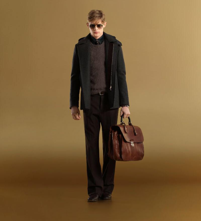gucci1 Lenz Von Johnston for Gucci Fall 2011