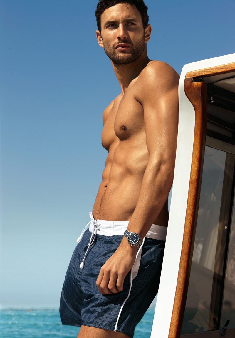 11 Noah Mills by Dean Isidro for Calzedonia Spring 2011 Campaign