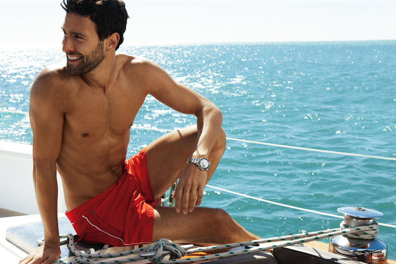 12 Noah Mills by Dean Isidro for Calzedonia Spring 2011 Campaign