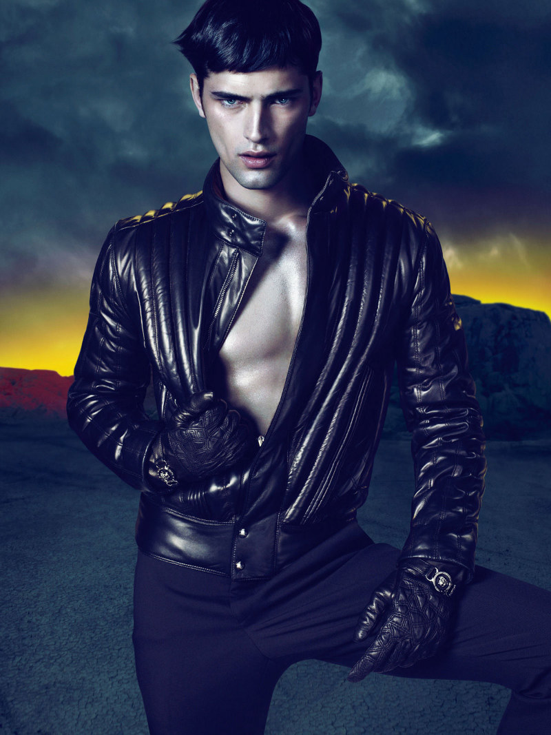 Sean4 Sean OPry by Mert & Marcus for Versace Fall 2011 Campaign
