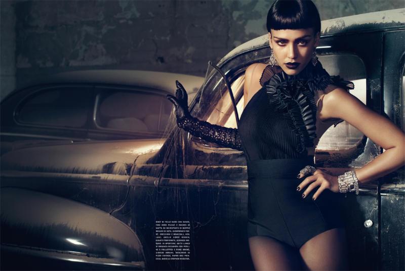 jessica alba2 Jessica Alba by Michelangelo di Battista for <em>Vogue Italia</em> April 2011