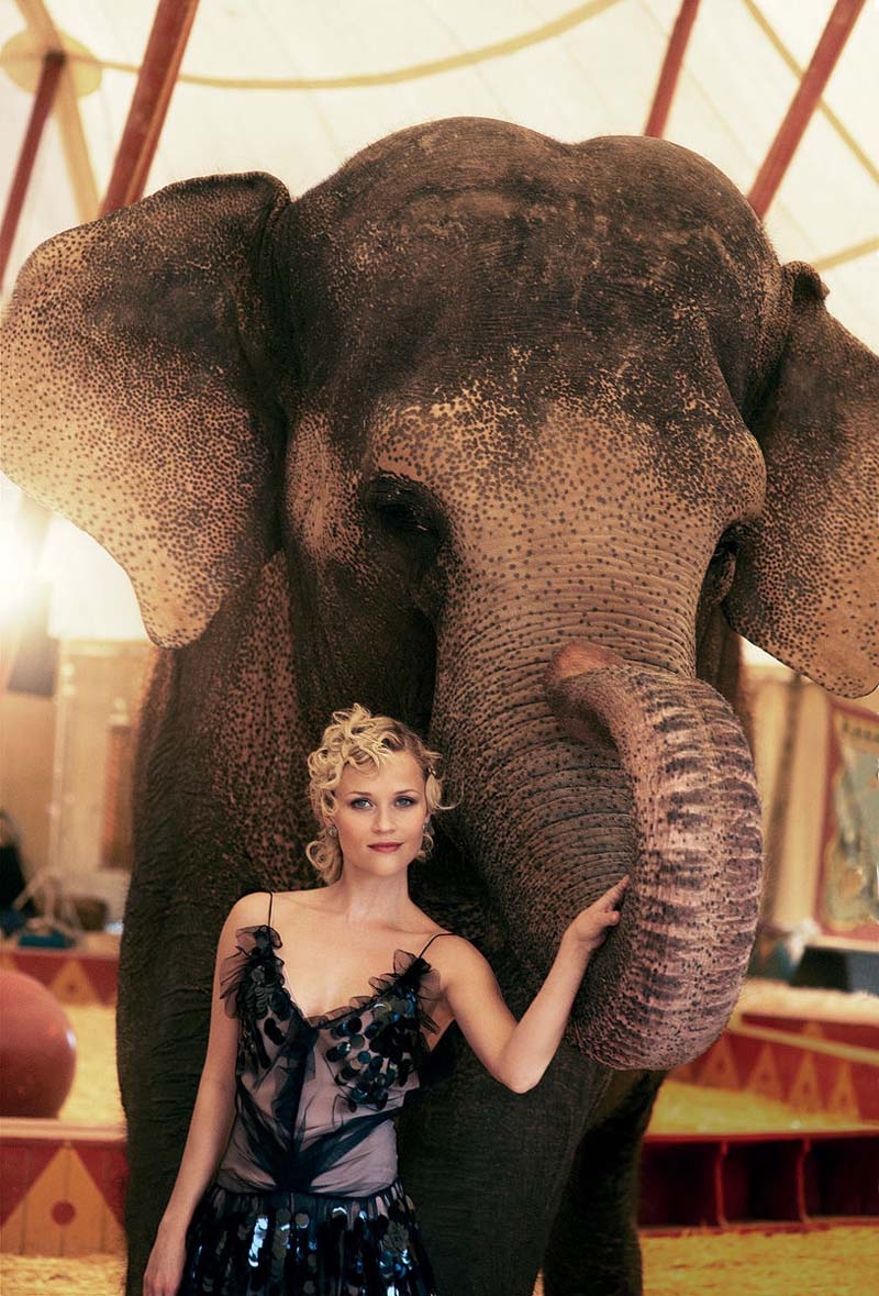 reese witherspoon1 Reese Witherspoon for <em>Vogue US</em> May 2011 by Peter Lindbergh