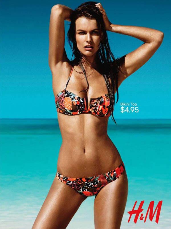 hm1 Filippa Hamilton for H&M Swimwear 2011 Campaign (Preview)