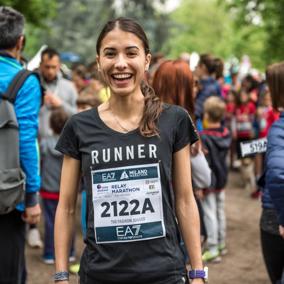 Lisa Migliorini Milano Marathon