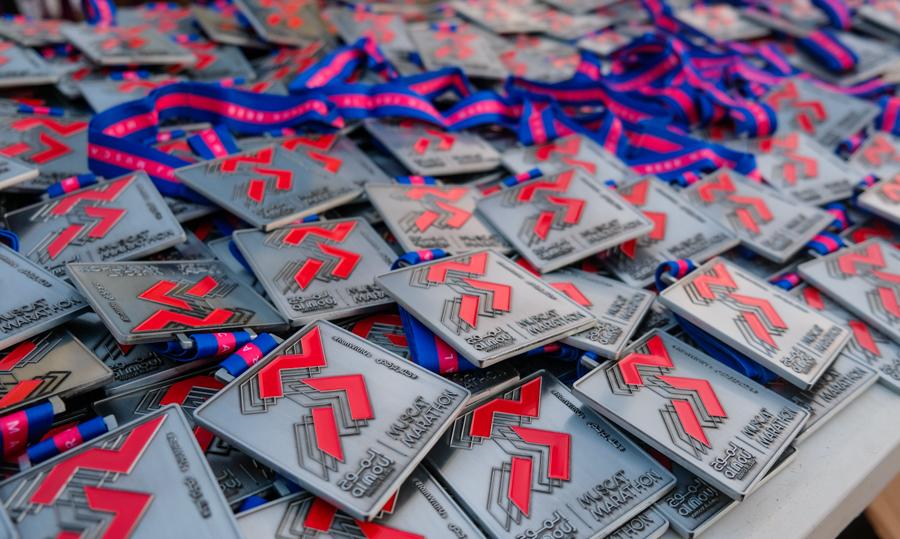 Muscat Marathon Medals